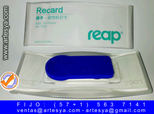 Gafetes tipo REAP 7001