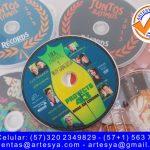 impresión dvd