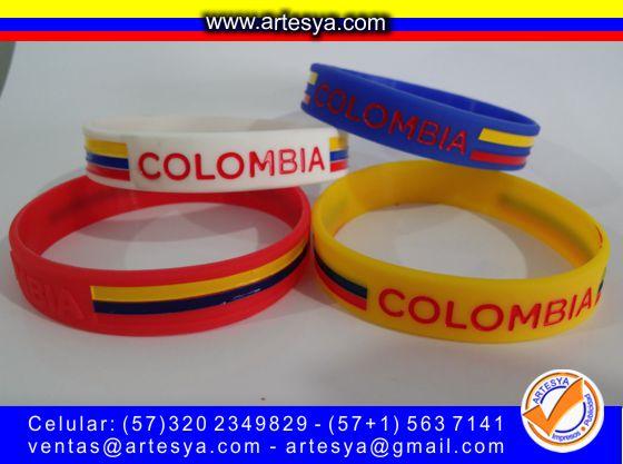 manillas silicona colombia