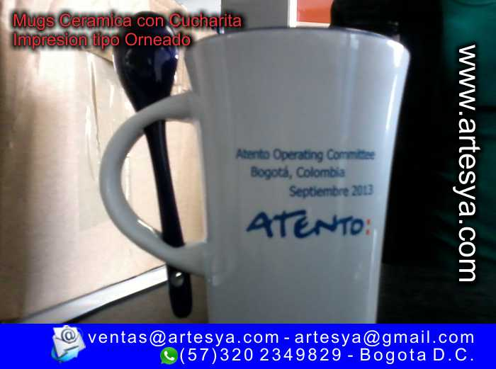 mugs cerámica