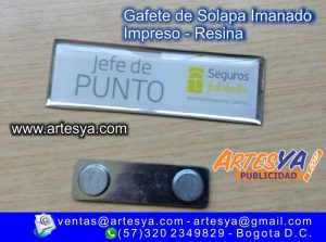 placa impresa de Identificación